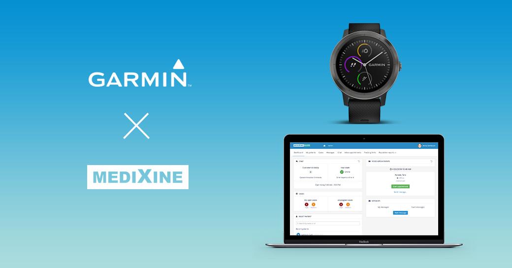 Medixine-Garmin-partner-social