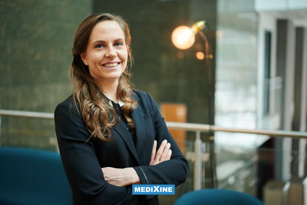 Annika Tentke aloitti Medixinellä palvelu- ja projektipäällikkönä